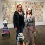 VIP Members of Pelham Art Center at private tour of Smack Mellon Gallery in DUMBO Brooklyn, NY